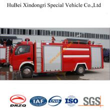 4ton Dongfeng Foam Tank Fire Truck Euro2
