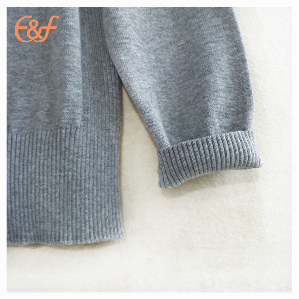 Sports sweater men cuff look
