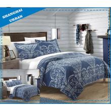 Couvre-lit en coton et polyester