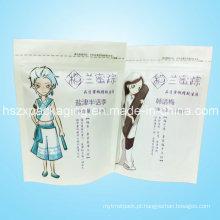 Saco plástico do empacotamento de alimento do petisco de Zhongxing