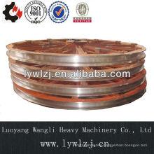 Non-standard cast iron belt pulley