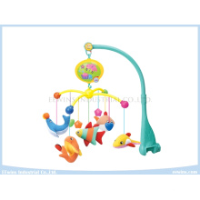 Electric Music Baby Mobiles Toys with Fabric Rattles