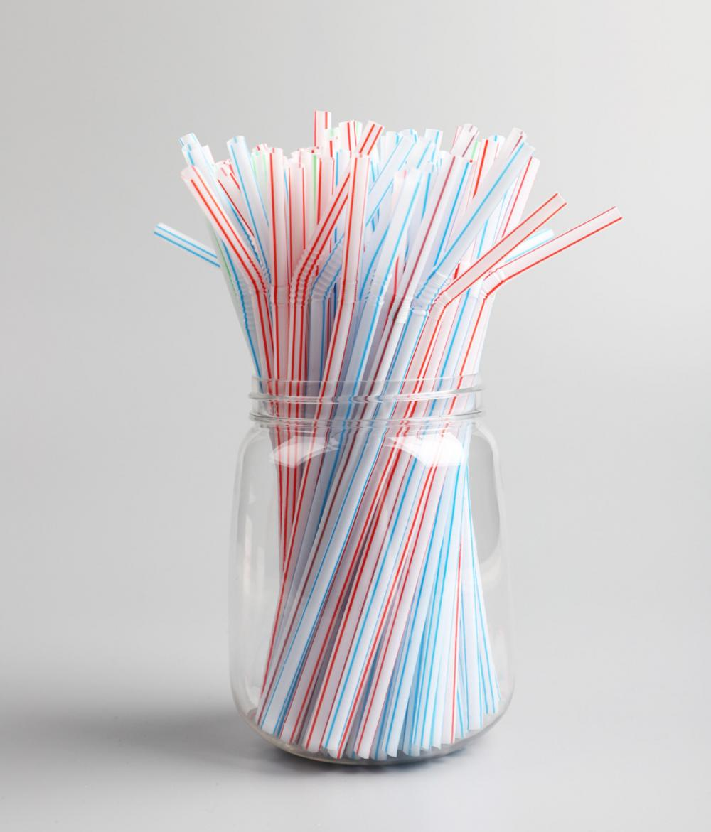 Compostable PLA Party Bendy Straws