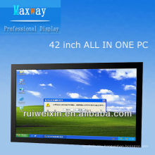 42inch cheap all in one pc Processor D525 1.8G