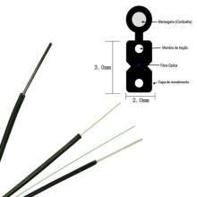 Cable de bajada de Fibre Optic 2 Core G657A FTTH