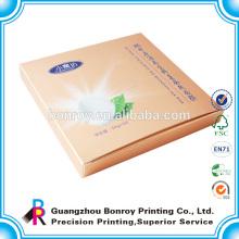 Alta qualidade personalizado impresso caixas de cosméticos e caixa de impressão impressa