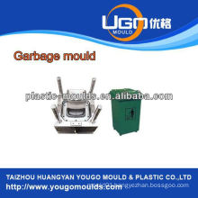 household moulds of 240 litre waste container mould, construction waste container nould, China injection mouldings