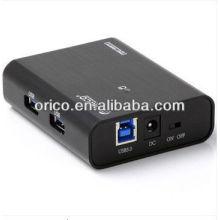 ORICO USB3.0 Super velocidade HUB, 4 portas hub, 4 portas Hub USB3.0