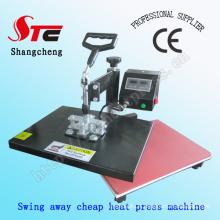 Balancer la Machine de transfert de chaleur à l'extérieur secouant la tête thermique presse transfert Machine thermique presse Machine Stc-SD07