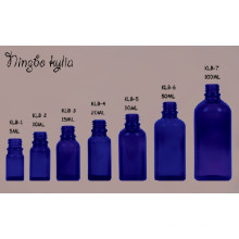 30ml Blue Cobalt Dropper Kindersichere Öl Glasflasche (KLC-2)
