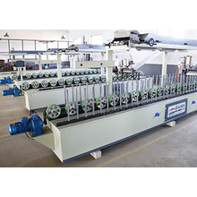 Woodworking Hot and Cold Glue MDF Frame Profile Wrapping Melamine Machine