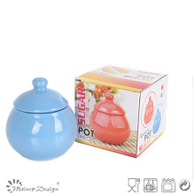 Cerarmic Stoneware Sugar Pot with Gift Box for Promotion