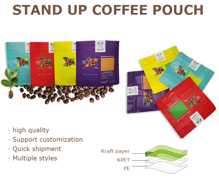 standup coffee pouch