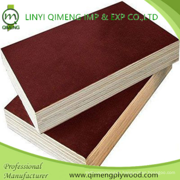 Poplar Core Brown Color Waterproof 12mm Marine Plywood From Linyi