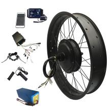 Factory sale QS motor fat tire 5000W electric bike kit with sabvoton controller