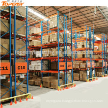 powder coated storage selective pallet rack for warehouse