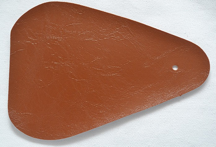 light brown-oil wax artificial sofa leather