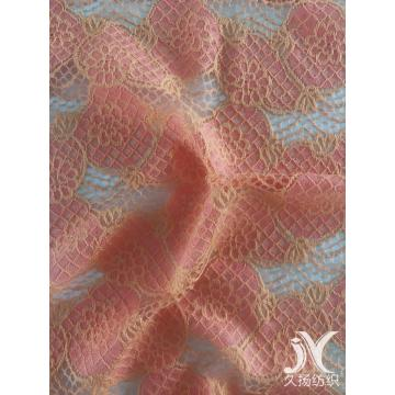 Coral Nylon Cotton Lace