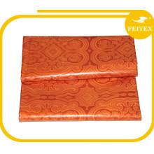 Trade Assurance Stock Supply cotton fabric textile,African Jacquard/Print bazin fabric guinea brocade