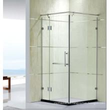 Precio competitivo Vidrio templado Sitio de ducha simple con la bisagra (K32)