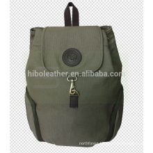 Customized vintage canvas backpack outdoor sports backpack for hiking camping