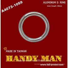 A4073-1059 O-ring forjado de alumínio anodizado