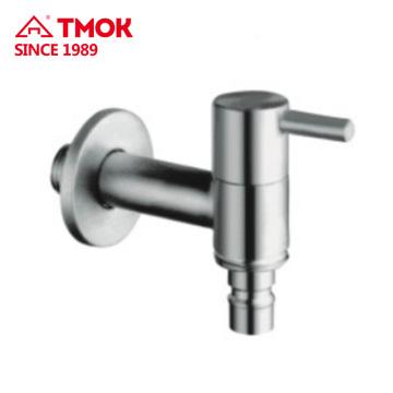 Robinet de robinet de bibcock d'eau de l'acier inoxydable 304 de haute qualité pour la machine à laver