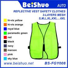 3 camadas de malha refletora Running Vest