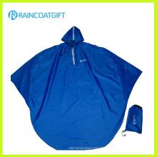Folding Polyester Rain Poncho Bicycle Rain Poncho (Rvc-117)