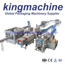 Pet Bottle Aqua Natural Drinking Soda Water Bottling Line Monoblock Automatic Aseptic Mineral Pure Sparkling Water Washing Filling Capping Labeling Packing Line