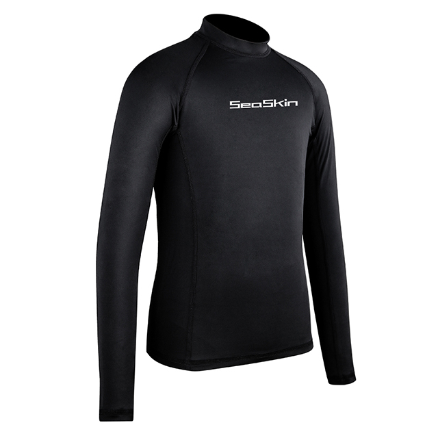 Seaskin Long Sleeve Rash Guard Childrens