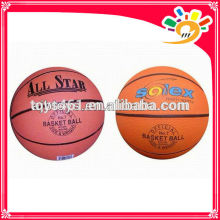 different logo printing basketball toy ball high quality