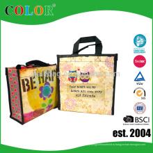 пользовательские моды переработанных ПЭТ мешок подарок мешок экологически rpet мешок