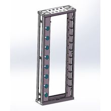 47U Open Rack Network Rack Gabinete