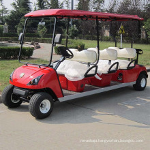 Hot Export 8 Seater Golf Cart with Ce Approved (DG-C6+2)