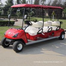 Горячая экспорт 8 местный тележка гольфа с CE утвержденный (ДГ-С6+2)