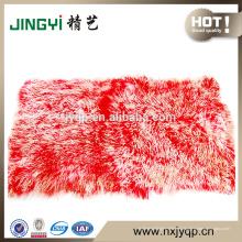 Placas de piel mongolas tibetanas de alta calidad al por mayor