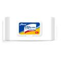 50PCS in Bag Antibacterial Alcohol Wet Wipes