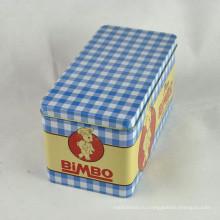 Шоколадные банки, Прямоугольный шоколадный олово, Металлическая коробка