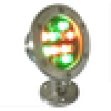 304 lampe sous-marine LED en inox 12w LED IP68 lampe de piscine de qualité marine