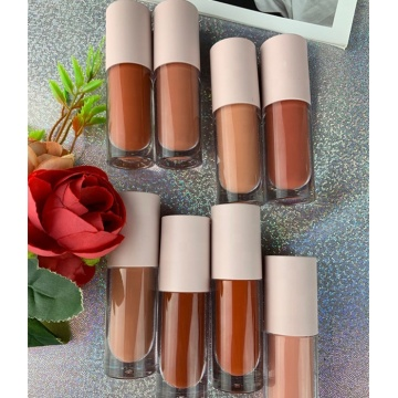 lipgloss maquiagem batom vegan nude Private Label