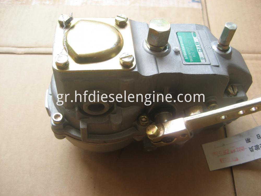 Fuel injection pump speed governor