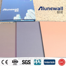 Alunewall 3mm double side 0.25 aluminium thickness spectra DreamX Aluminium Composite Panel acp Chinese factory direct sell