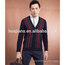 winter man's cashmere knitting cardigan