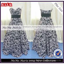 Plus Size Party Gown Schmetterling Design Kleid BYE-14062
