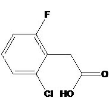 Ácido 2-cloro-6-fluorofenilacético Nº CAS: 37777-76-7