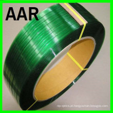 1608 verde em relevo banda pet strapping