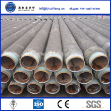 hot sale API 5L cement mortar lining steel pipe for water or constructure