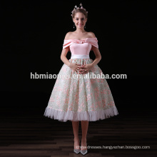 New Arrival Elegant Pink Ladies Guangzhou Evening Dress Wholesale