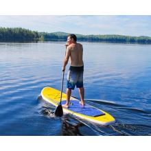 10.0′ aufblasbare Surf Board gelbe und blaue Farbe Paddle Board